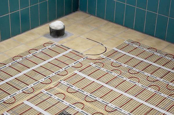 теплые электрические полы