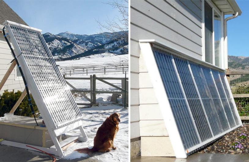 Самодельный солнечный коллектор из PEX трубы для нагрева воды