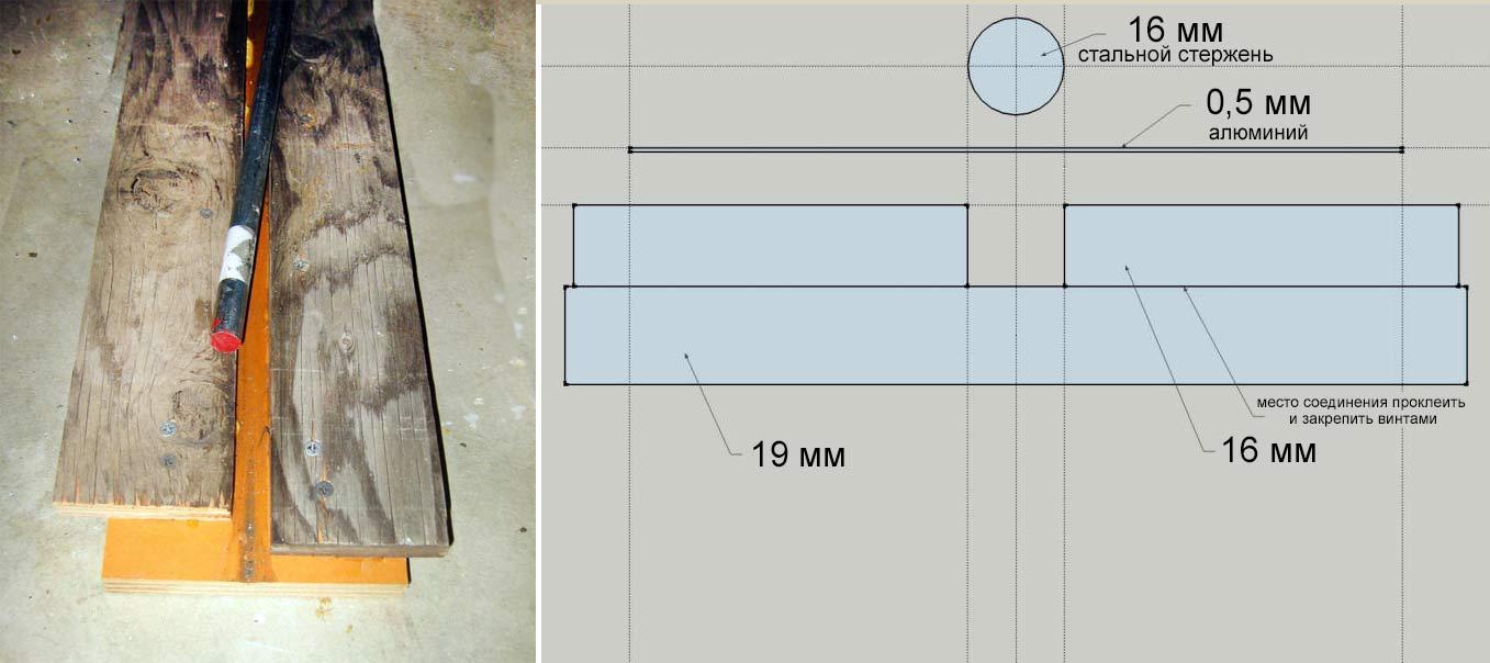 Приспособление для гибки алюминия для абсорберов солнечного коллектора
