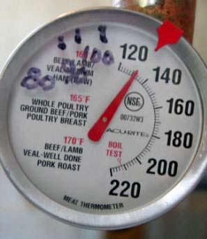 Замер температуры